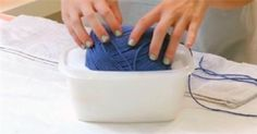 She Places An Entire Roll Of Yarn Into Glue. What She Makes Is AMAZING!