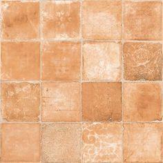 Tomettes anciennes hexagonales en terre cuite une fois for Carrelage terre cuite provence