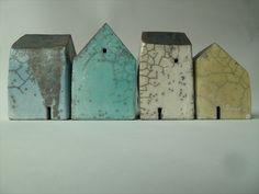 Rowena Brown via Craft Finder Set of four houses 2