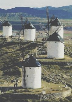 Spain La Mancha, Spain~Don Quijote Places To Travel, Places To See, Places Around The World, Around The Worlds, Beautiful World, Beautiful Places, Dom Quixote, Voyage Europe, Spain And Portugal