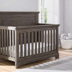 Are you looking for that prefect Rustic Crib? You will love these cribs! Farmhouse Furniture, Rustic Furniture, Farmhouse Decor, Funky Furniture, Furniture Ideas, Crib Sets, Crib Bedding Sets, Nursery Furniture, Nursery Decor