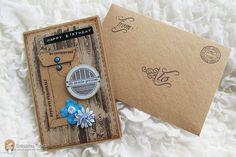 Creazioni Topina Erika: Card Compleanno ( n.6 / 2015 )