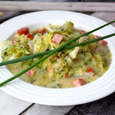 Gotujimieszkaj - kulinaria, przepisy, testy, recenzje Risotto, Potato Salad, Potatoes, Tasty, Meat, Chicken, Ethnic Recipes, Food, Potato