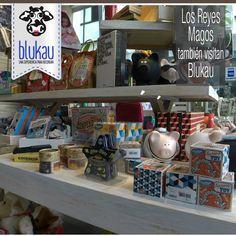 Los reyes magos ya están haciendo su lista en #Blukau. Visitanos y descubre todo lo nuevo en tienda.