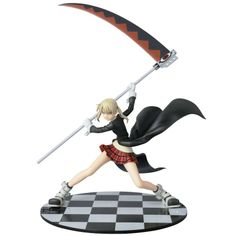 "HYPERIONZ Authentic Japan - SOUL EATER "" Maka = Albarn "" : 1/8 Scale Figure ..."