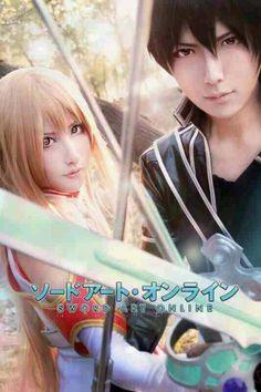 Amazing! Asuna and Kirito