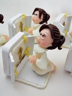 menina flor biscuit - Pesquisa Google