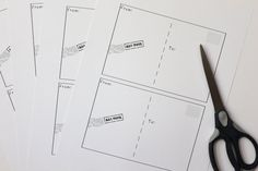 Smashed Peas and Carrots: Make Your Own Postcards {Free Printable}
