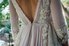Una novia de tul rosa por #HelenaMareque