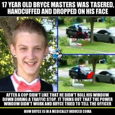 Sooo, you still don't think that we are living in a police state, or that the cops are out of control? Well then just imagine being this childs parent, or that this happened to one of your own! http://thefreethoughtproject.com/fbi-opens-investigation-traffic-stop-left-17-year-old-critical-condition/