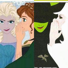 Wicked! & Frozen! This is soooo amazing