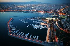 Mega yacht private marina in Athens - Greece