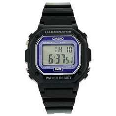 Casio Mens Black Chronograph Watch -- Check this awesome product by going to the link at the image. Online Shopping, Casio Watch, Digital Watch, Best Sellers, Chronograph, Unisex, Watches, Men, Black