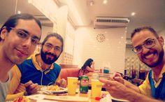 Friends. Love it!  #friends #beauty #beautiful #bearded #beard #face #healthlifestyle #sexy #photo #art #instagood #belohorizonte #bh #mineiro #hair #minasgerais #minas #chest #gym #fitness #muscles #pits #armpits #gay #instagay #homo #homogram by james.nevesco