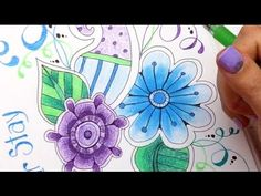 Adult Coloring Tutorials: Tips & Techniques for Adult Coloring Books