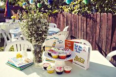 I think this is my fave baby shower idea for a Bookworm! So awesome.