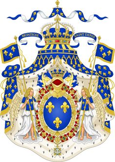 Coat of Arms for the King of France