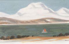 Boat by Onni Oja Sailboats, Painting, Art, Sailing Yachts, Craft Art, Paintings, Sailboat, Kunst, Gcse Art
