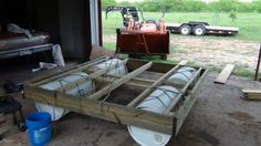 Here's the small dock I built... | Property Projects  Construction | Pond Boss Forum