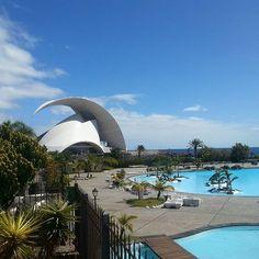 Auditorium, Santa Cruz de Tenerife #tenerife#islascanarias#canaries#sightseeing#travelgram#instatravel#city#spain#espana#carnaval#travel#life by alina.vsl. carnaval #canaries #tenerife #spain #life #islascanarias #city #travel #instatravel #sightseeing #travelgram #espana