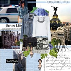 Street life ( Where the streets have no name ), created by vassiliki-g on Polyvore