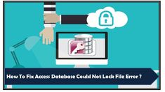 Learn what fixes you can try to fix Access database could not lock file error. Fix 1: Delete Lock File (.Ldb), Fix 2: Prevent Opening Of Access Database In Exclusive Mode etc… Error Code, Data Entry, Fix You, Filing, Microsoft, Learning, Data Feed, Studying, Teaching