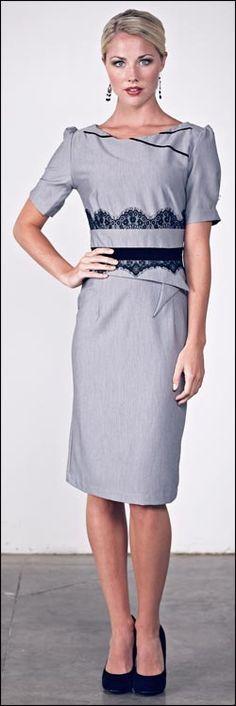 <3 modest dress