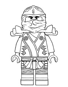 Ninja Statue Coloring Pages