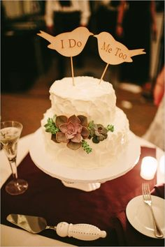 i do me too bird cake topper