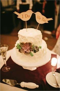 paper bird wedding cake topper