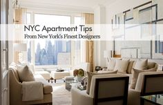 New York City Apartment Interior Design Tips #lucyharrisstudio #interiordesign #luxpad
