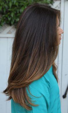 Beautiful, Natural Brunette Highlights