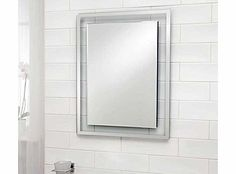 Better Bathrooms Wall Mounted 5mm Thick Glass Bevell Edge Bathroom Mirror  No Description (Barcode EAN