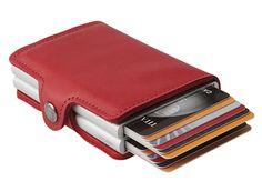 Twinwallet rot von Secrid auslesesicheres Portemonnaie - Gefunden auf #KONTOR1710