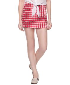 Short Geometric Skirt | FOREVER21 - 2005757492