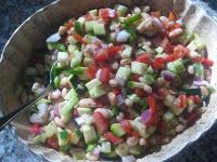 End of Summer Salad. . .yum