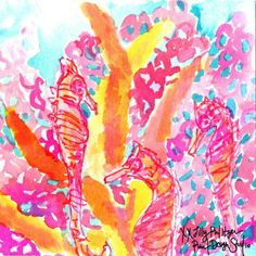 (Sea) Horsing around #lilly5x5 | Sea Soiree Inspiration
