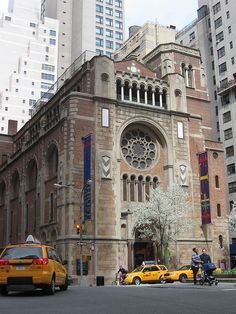 Christ Church (1932)  Architect: Ralph Adams Cram  520 Park Ave. at 60th St.  Upper East Side, New York