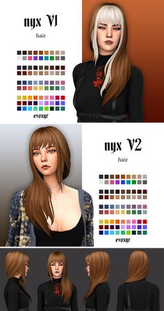 evoxyr is creating custom content for the sims 4 Los Sims 4 Mods, Sims 4 Game Mods, Sims 4 Mods Clothes, Sims 4 Clothing, The Sims 4 Packs, The Sims 4 Cabelos, Pelo Sims, Sims4 Clothes, Sims 4 Gameplay