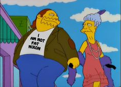 Comic Book Guy IS NOT Fat Nixon!