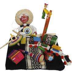 Colección de juguetes mexicanos