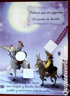 #Literatura infantil para #niños - Quijoteworld,pegajotes. Encuentra más en http://www.quijoteworld.com/quijote-decoraci%C3%B3n-tienda/papeleria-don-quijote/