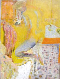 Pierre Bonnard, Back of Nude at her Bath