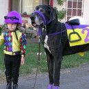 Jockey and horse costume @Amy McPhee