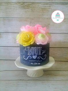 I ♡ you to pieces - Cake by Frosted Dreams