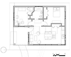 Builder:  Small Home Oregon; square foot MH-Rose Floor Plan