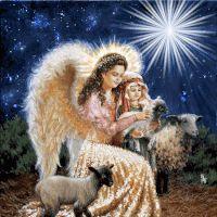 animated angels photo: Merry Christmas Angels Animated 4520799.gif