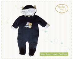Enterizo Acolchado Tiernos Amigos by Baby Club Chic.