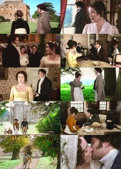 "Jane Austen s Pride  Prejudice BBC 1995 "" I am come to inquire after my sister. ~ On foot? ~ As you see.... would you be so kind as to take me to her?"""