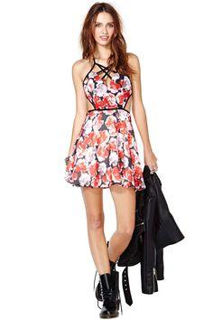 Nasty Gal Rose Darling Dress | Shop What's New at Nasty Gal